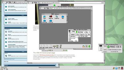 Tampilan desktop dari RISC OS