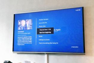 OSMC on Mounted Screen