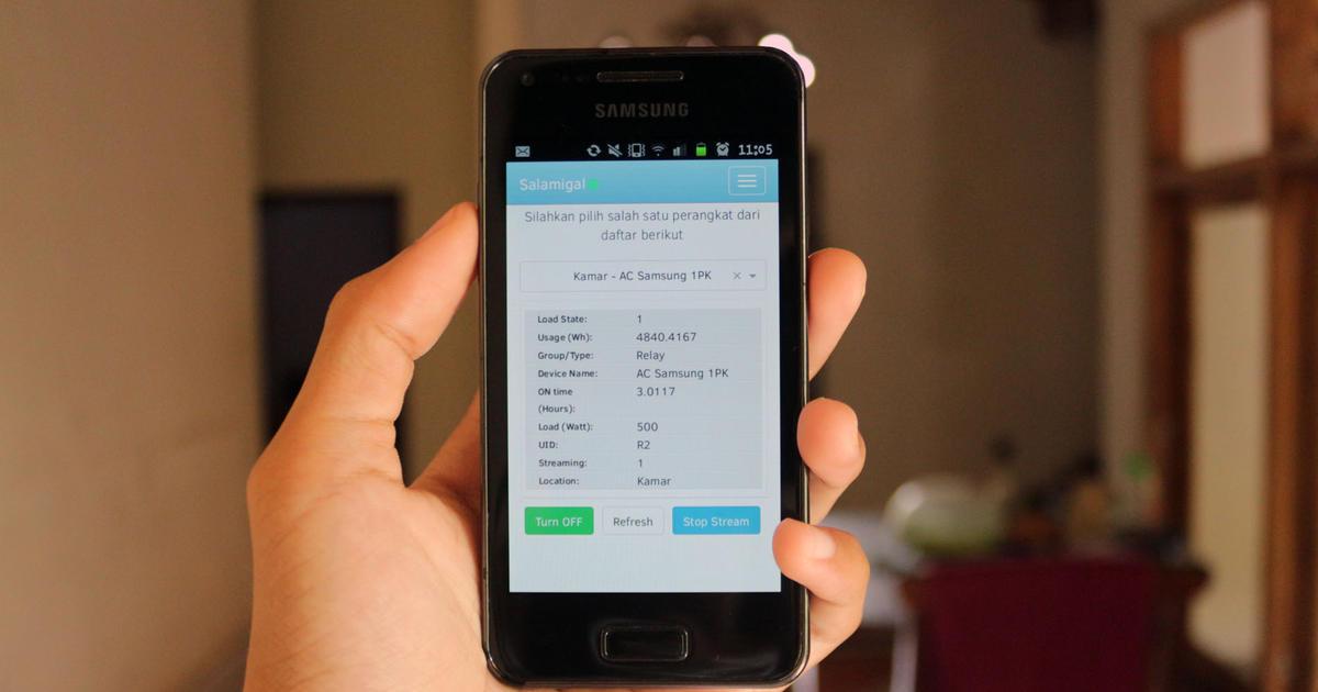 Salamigal - Raspberry Pi Smart Home Controller