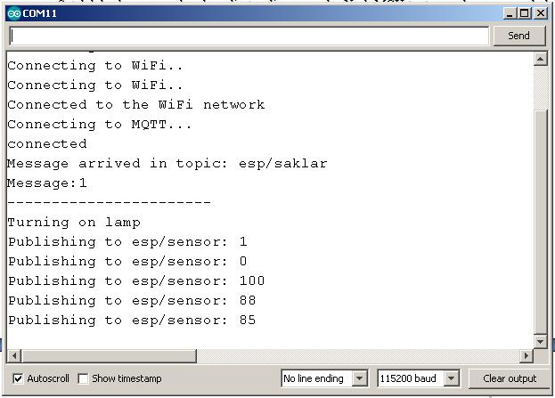 Arduino Serial Monitor