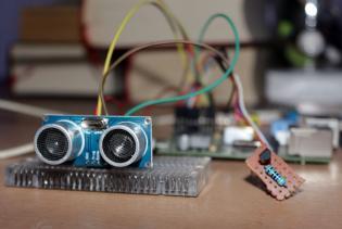 Ultrasonic Pinger HC-SR04 Raspberry Pi
