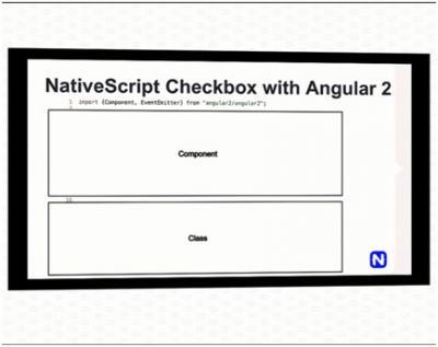 Komponen Angular 2 terdiri dari dua bagian: visual template dan class